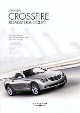 Preisliste Chrysler Crossfire 4 07 Autopreisliste 2007 Auto Pkw price list USA