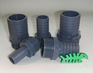 Hose Tail BSP male threaded hose tail various sizes