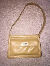 Tan GUESS TOP Button PURSE