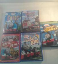 Thomas & Friends DVDs Creaky Cranky Curious Cargo Rescue Rails Hero Runaway Kite