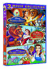 Beauty And The Beast / Belle's Magical World / The Enchanted Christmas (DVD,...