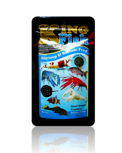 KING FISH wafer food for Crystal red cherry Shrimp Crayfishes ,cory,loach,pleco