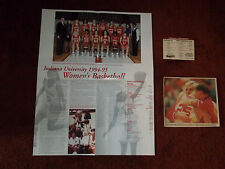 Indiana University Basketball Poster 1994 1995 Mens Womens Magnet Bobby Knight