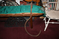 Antique Giant Butcher Shop Cast Iron Meat Hook-Nautical Whaling Ship Hook