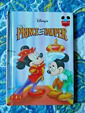 The Prince and the Pauper by Walt Disney Company Staff (1993, Hardcover)