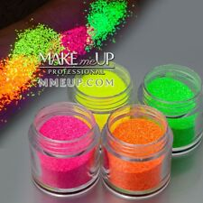 4 Colors UV Neon Fluorescent Glitter powder party tattoo reactive glowing ultra
