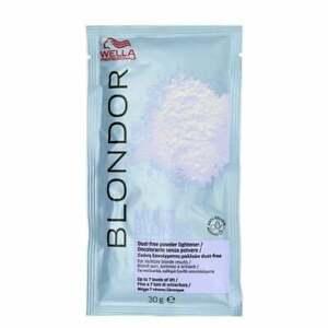 "Wellla Blondor Multi Blonde Dust Free Powder Bleach Sachet 30g""UK SPEED POST""!!!"