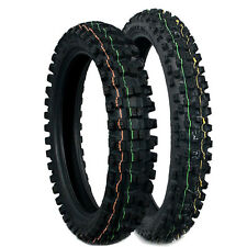 Dunlop Geomax MX52 60/100-10 Front and 70/100-10 Rear PW50 CRF50 XR 50 KTM Cob