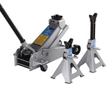 OTC 5300 3-Ton Service Jack and a Pair of 3-Ton Jack Stands