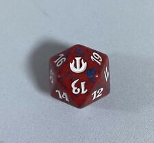 MTG Magic - 20 Sided Dice Life Counter- Red/Blue - Journey Into Nyx