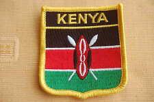 Kenia Kenya Aufnäher Aufbügler Wappen Patch  Flagge