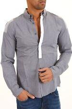 Camicia Uomo Maniche Lunghe BRAY STEVE ALAN Shirt A658 Tg M