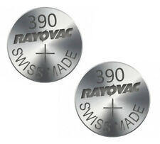 2pc Rayovac 390 SR1130SW Batterie 1.5 V Argent Piles D390 S24 GS10 V390 UK