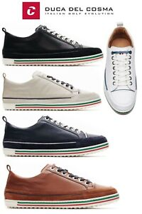 Duca Del Cosma Monterosso Nappa Leather Golf Shoes, Spikeless FREE P&P