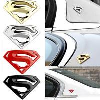 Cool 3D Superman Chrome Auto Car Motorcycle Logo Sticker Badge Emblem Decals New