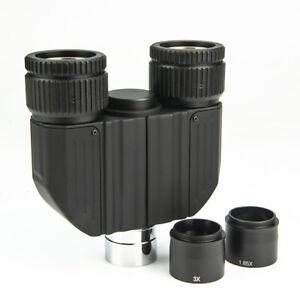 "1.25"" Monocular to Binocular Adapter Astronomical Binocular Viewer Head"