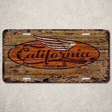 LP0151 Old Vintage California Sign Auto Car License Plate Home Gift Decor