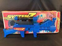 Rare 1970s Vintage Remco System7 System 7 Way Task Force Toy Gun Blaster W/Box