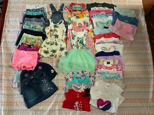 51 Lot Carters, Tommy Bahama, Nike, & More Brands Girls Clothes Size 5/6 Summer