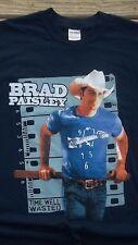 Medium Rare Brad Paisley Fan Club Tour T-Shirt Country Rock Music Singer Concert