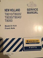 NEW HOLLAND T8010 8020 8030 8040 8050 FRONT AXLE SERVICE MANUAL
