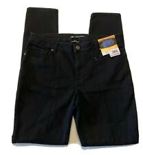 Lee Riders womens jeans size 14 Long skinny mid rise black shape illusions new