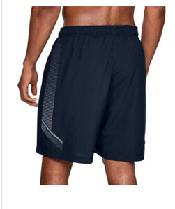 Under Armour Woven Graphic Mens Training Shorts - Black large