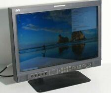 """JVC DT-V20L3D Multi Format LCD Monitor 3G DVI HD-SDI 16:9 Broadcast Ecran 20"""""""