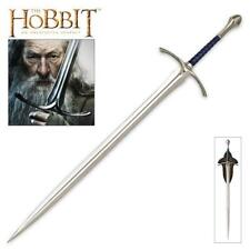 """The Hobbit Glamdring 48"""" Gandalf Sword with Plaque United Cutlery COA"""