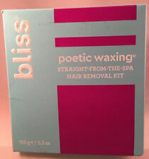bliss ~ Poetic Waxing ~ Straight From The Spa Hair Removal Kit - 5.3 Oz