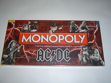 Monopoly AC/DC  Collector's Edition Hasbro Boardgame Brand New