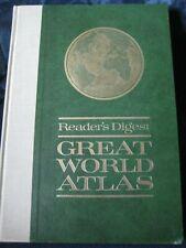 Vintage Reader's Digest Great World Atlas, 1969 ~ Hardcover
