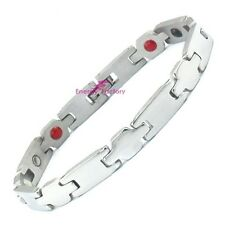 Unisex Mens Bio 4in1 Healing Magnetic Therapy Bracelet - ARTHRITIS Pain Relief
