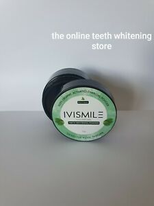 Organic Charcoal Teeth Whitening Powder & Powerful Stain Remover - Large 30g pot