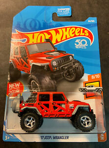 Hot Wheels CUSTOM '17 Jeep Wrangler with Real Riders