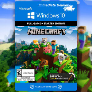 ✅ Minecraft Windows 10 Edition PC KEY ➕ Starter Collection DLC's ✅