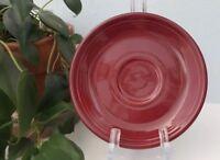 Fiestaware Saucer Cinnabar #102 Retired Color. Homer Laughlin. Tea Cup Saucer.
