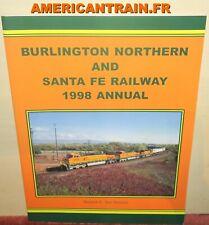 Livre Burlington Northern and Santa Fe Railway 1998 Annual