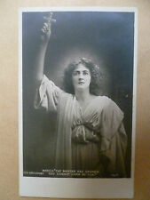 Theatre Postcard- Maud Jeffries in MERCIA-MASTER HAS SPOKEN YOU CANNOT HARM ME