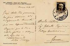 Autografo Ferruccio Ferrazzi Pittore Docente Accademia Belle Arti Arezzo 1936