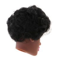 Black Skin Women Doll Short Wigs Without Body Dolls Accessories DIY Toys