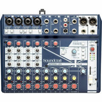 Soundcraft Notepad-12FX Small-format Analog Mixing Console with USB I/O New
