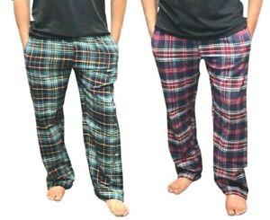New Men's Boys Soft Premium Flannel Pyjamas Bottoms Lounge Wear Night Trousers