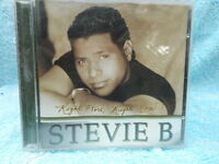 STEVIE B RIGHT HERE RIGHT NOW C.D. NEW
