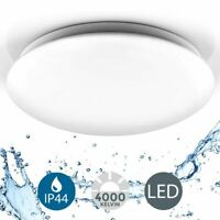 Deckenlampe LED 18W Badlampe IP44 Badezimmerleuchte Deckenleuchte Küche Flur