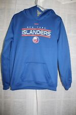 New York Islanders Reebok Face Off Collection Hooded Sweatshirt Youth XL