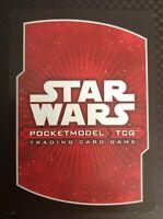 Star Wars Pocketmodel TCG Clone Wars Tactics Rare Cards