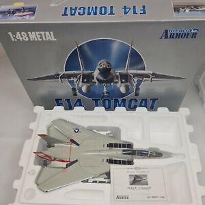 FRANKLIN MINT 1:48 F-14 TOMCAT US NAVY SUNDOWNER 98037 Die Cast Model
