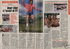 Coupure de presse Clipping 1989 Roger Zabel  (2 pages)