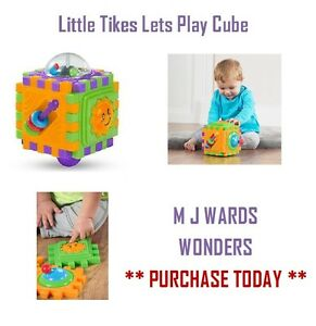 Little Tikes Lets Play Cube - BOXED - ** GREAT GIFT **